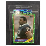 Refrigerator Perry 1986 Football Card Graded Gem