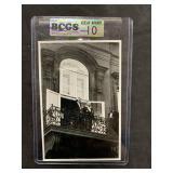 Vintage Hitler Nazi Propoganda Card-65-Graded Gem