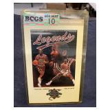 Vintage RARE Michael Jordan Legends Card Graded