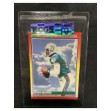 Dan Marino Hot Gun Football Card Graded Gem Mint 1
