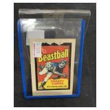 Wacky Packages Beastball Card