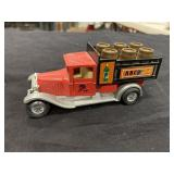 Vintage ABC Wine Toy Truck WIth Barrels in Back