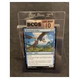 Magic Hinterland Drake Card Graded Gem Mint 10