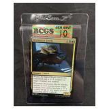 Magic Decimator Beetle Card Graded Gem Mint 10