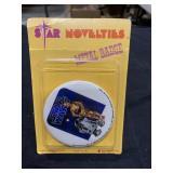Vintage Star Wars 1977 Unopened Sealed Button