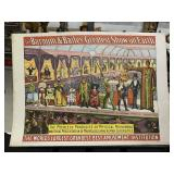 Vintage Circus Oddities Poster-1960