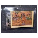 1956 Snake Adventure Card Graded Gem Mint 10
