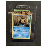 Pokemon Card Graded Gem Mint 10