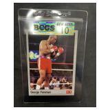 George Foreman Boxing Card Graded Gem Mint 10