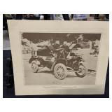 Vintage Telephone Company Print-1st Automobile
