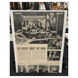 Vintage Roy Rogers Merhandise Advertising Litho