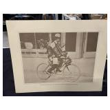 Vintage Telephone Company Print-1911 Bicycle