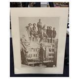 Vintage Telephone Company Print-Aerial Lineman