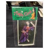 Vintage Suzy China Doll Magic Card-Flower in HairU