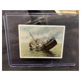 Vintage Nazi German WWII Boat/Ship Card-244