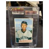 Ted Williams Card With 8.5 Hologram Sticker