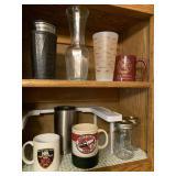 Fire dept mugs, misc cups/mugs