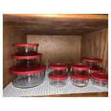 Anchor storage containers & lids