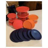 Pyrex glass storage & lids