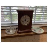 Clock, ring holder, coaster