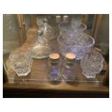 Miscellaneous cut glass