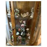 Hummingbird figurines and decorations on all