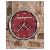 University of Arkansas Razorbacks wall clock