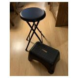 Stool and foot stool