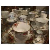 Misc tea cups