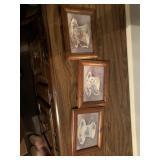 Small framed teacup prints