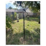 Iron pole birdfeeders