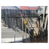 Yard tools and T posts