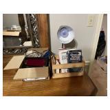 Box of miscellaneous including radio o