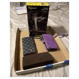 Counterfeit Louis Vuitton phone case, purple