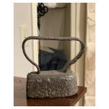 Antique cast iron iron