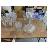 19 pieces of glass