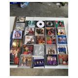Mainly classic Christmas CDs