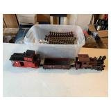 Lionel Electric train and tracks