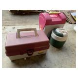 Tacklebox, lunchbox, Igloo thermos