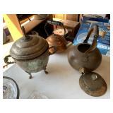 Metal tea kettles