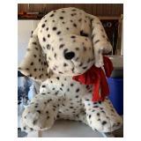 Oversize stuffed dalmatian