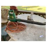 Weedeater leaf blower & extension cord
