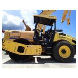 "2014 BOMAG BW177DH-5 SMOOTH DRUM, OROPS, WORKLIGHTS, KUBOTA DSL ENG, 66"" DRUM, 1040 HRS"