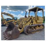 CAT 955L TRACK LOADER, OROPS, SHOWING 2268, S/N 71J5499