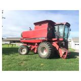 1990 CASE INTERNATIONAL 1660 AXIAL-FLOW, 4WD, BIN EXTENSION, SPECIALTY ROTOR, 6070 HRS