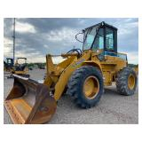 KAWASAKI 50 Z IV ARTICULATED WHEEL LOADER, SHOWING 5116 HRS, S/N# 50010161