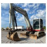 TAKEUCHI TB290 EXCAVATOR, C/H/A,  SHOWING 2211 HRS, S/N# 185100357