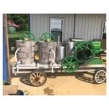 JOHN DEERE 3HP HIT & MISS ENG ICE CREAM MAKER