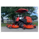 2015 JACOBSON R311T 4X4 COMMERCIAL MOWER, HYD FOLD DECKS, SHOWING 915 HRS, S/N# 069171