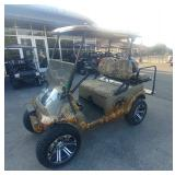 CUSTOM DUCK DYNASTY, 4 SEATER, 48V CLUB CAR